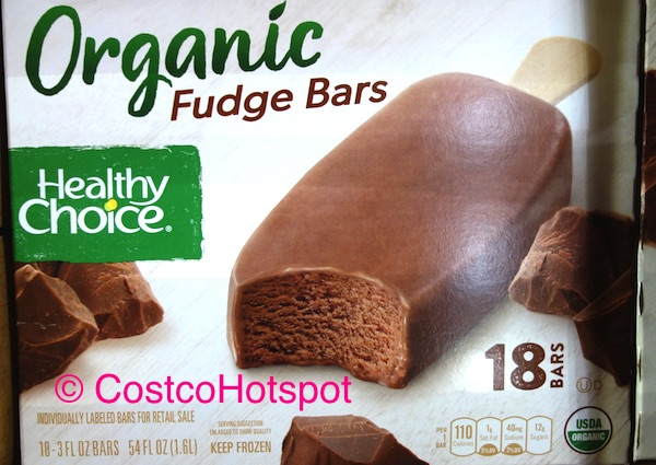 Healthy Choice Organic Fudge Bars 18-Count Costco