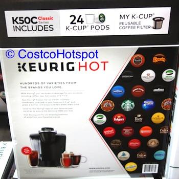 Keurig K50C Coffee Maker with 24 K-Cup Pods Costco