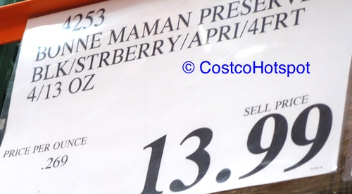 Bonne Maman Preserves 4-Pack Costco Price | Costco Hotspot