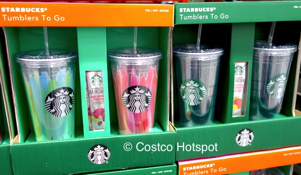 Starbucks 2-Pack Tumblers To Go Costco