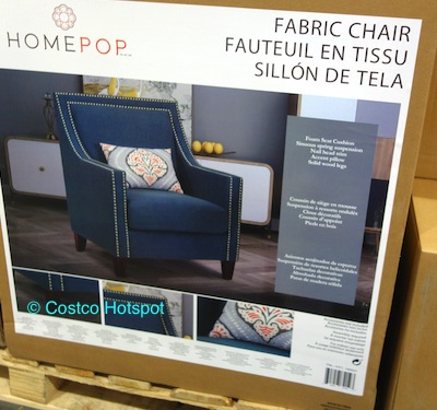 Costco: Home Pop Edwin Fabric Chair at Costco