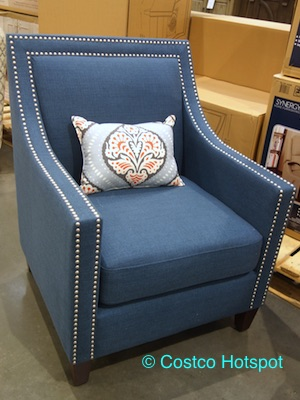 Home Pop Edwin Fabric Chair at Costco