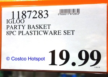 Costco Hotspot: Igloo Party Basket Cooler Bag Combo Price