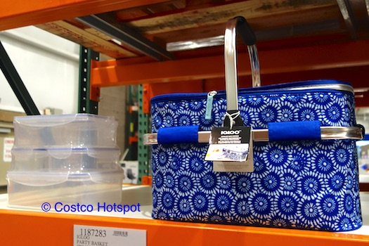 Costco Hotspot: Igloo Party Basket Cooler Bag Combo Blue and White