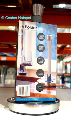 Polder Single-Tear Paper Towel Holder at Costco