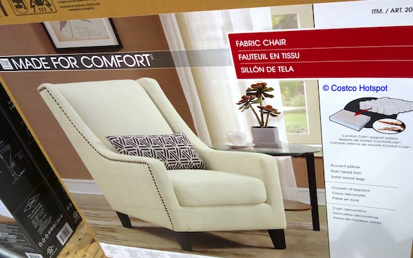 True Innovations Sophia Accent Chair Costco