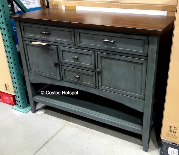 "Bayside Furniture Costco: Bayside Furnishings Seabrook 47"" Console $299.99"
