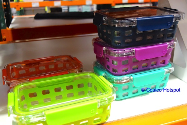 Ello Meal Prep Glass Food Containers, Glass Food Containers Costco