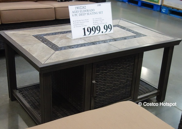 Agio Eldorado Deep Seating Costco