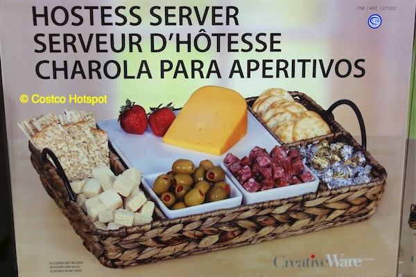CreativeWare Tahiti Hostess Server Costco