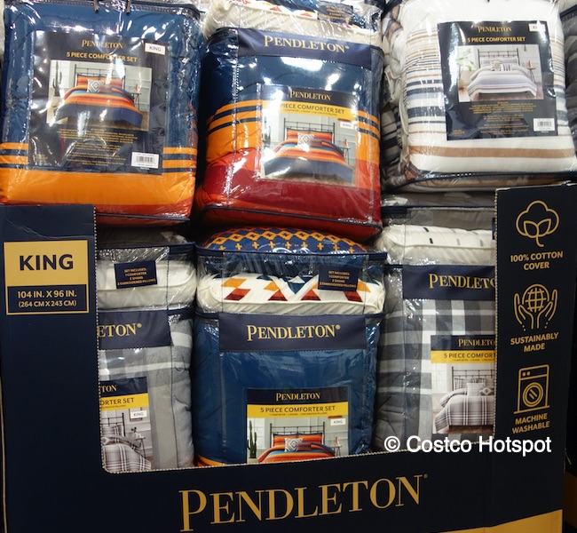 Pendleton comforter set Costco