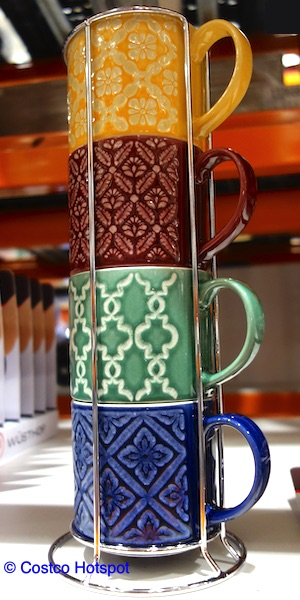 overandback Love Coffee Mugs with Stand Display | Costco Hotspot