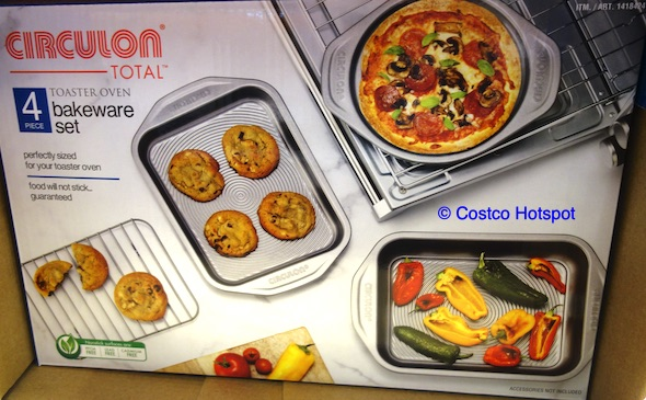 Circulon Toaster Oven Bakeware Set | Costco