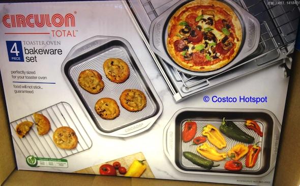 Circulon Toaster Oven Bakeware Set | Costco