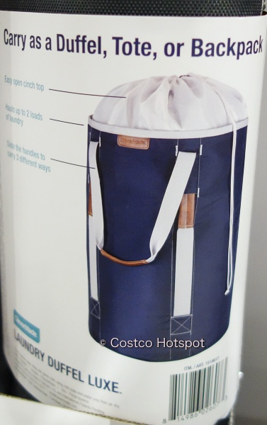 CleverMade Laundry Duffel Luxe tote | Costco Hotspot